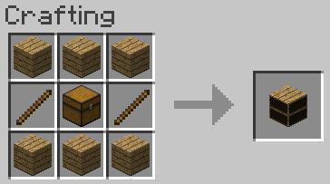 crafting01 [1.1] Les livres dans Minecraft