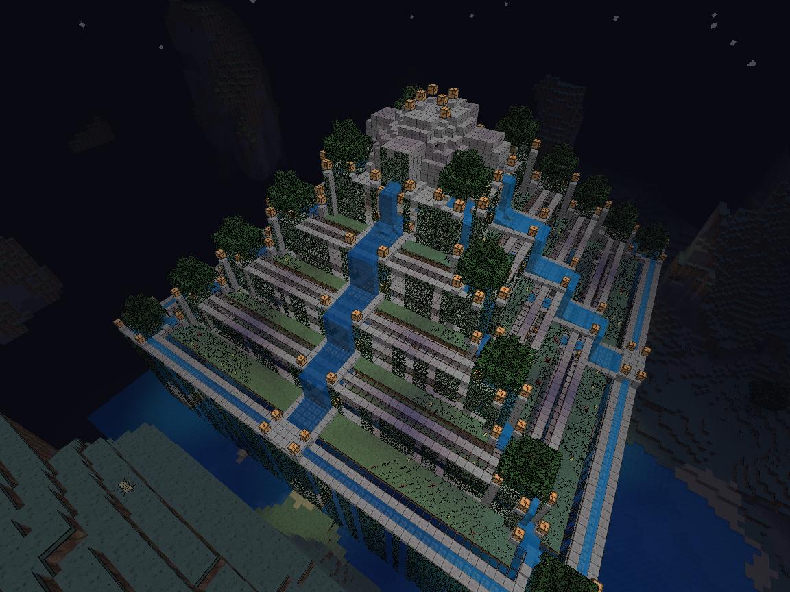 Beau Jardin Minecraft | Mobilier & Décoration