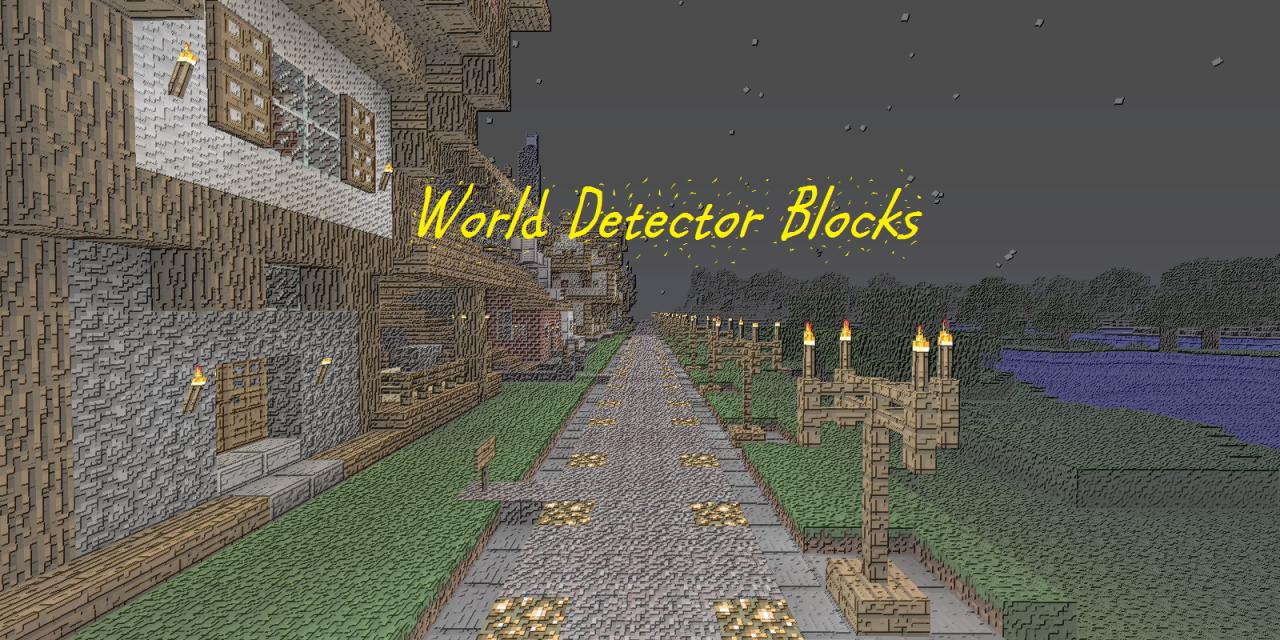 [1.1] World Detector Blocks
