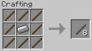 recipePicture metalStick 300x166 [1.1] WeCraft mod