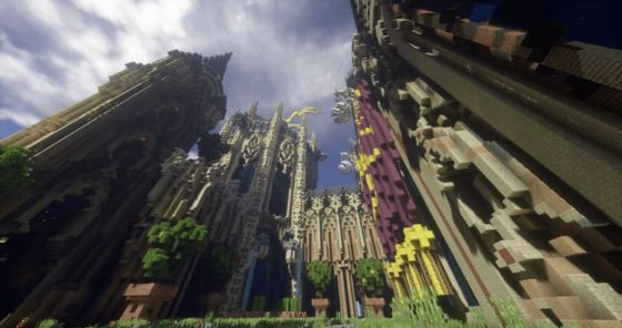 sonic ethers unbelievable shaders cathedrale