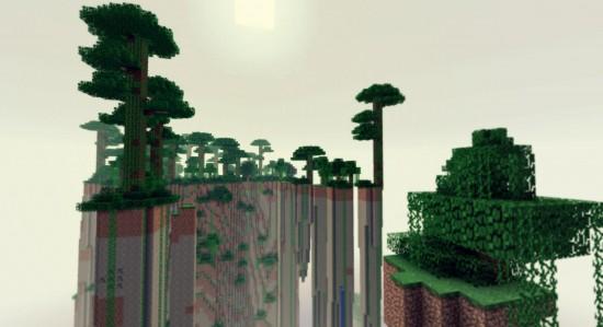 Des jungles supendues.