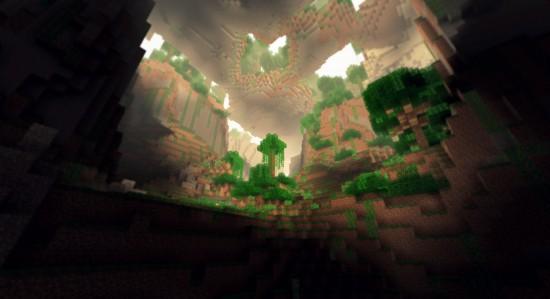 Des jungles souterraines.