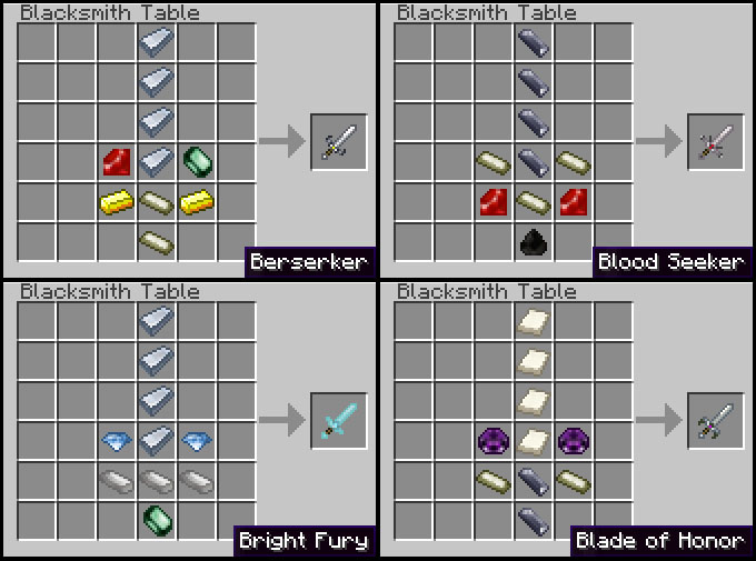 recipes 1 [1.2.5] Weaponizer