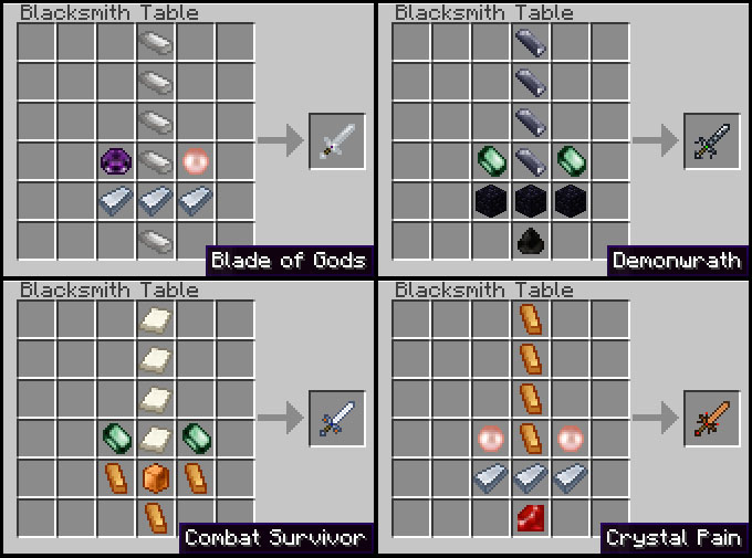 recipes 2 11 [1.2.5] Weaponizer