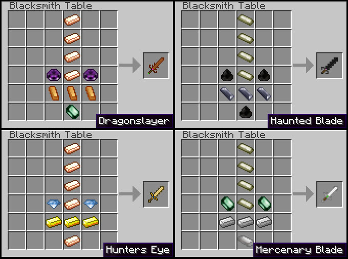 recipes 3 1 [1.2.5] Weaponizer
