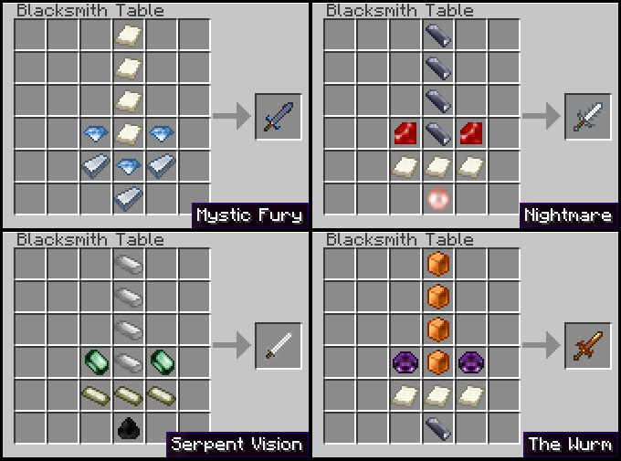 recipes 4 3 [1.2.5] Weaponizer