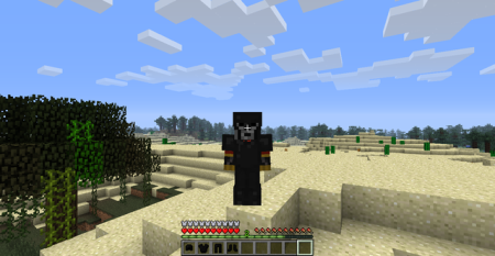 Armure d'Onyx Simple Ores