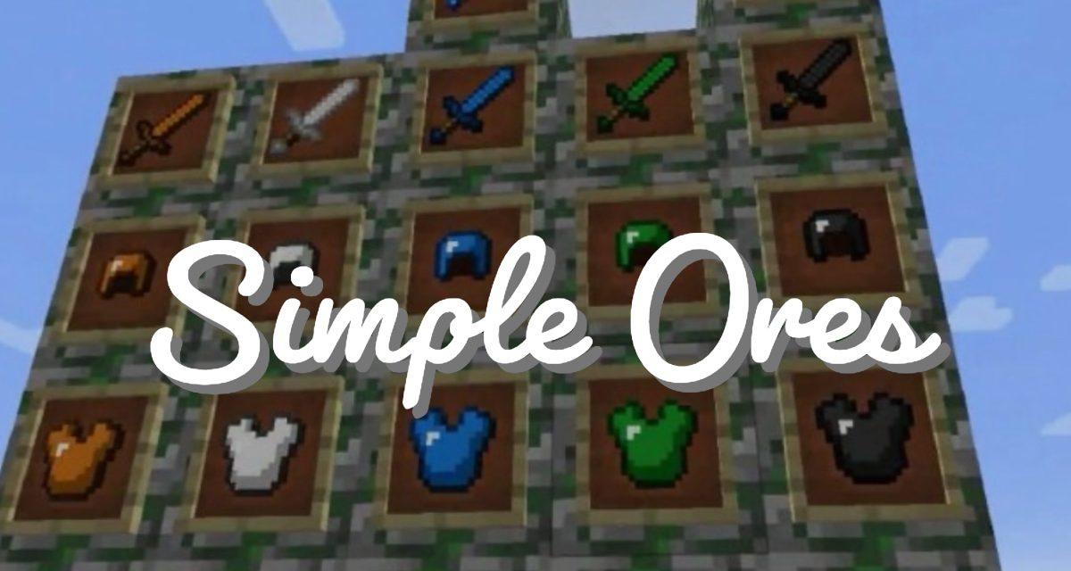 [Mod] SimpleOres – 1.7.10 → 1.16.3