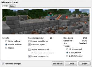 L'exportation en schematic
