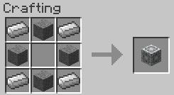 Le cube de stockage lesté