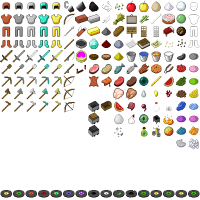 Compilation de packs de texture 32x32 items