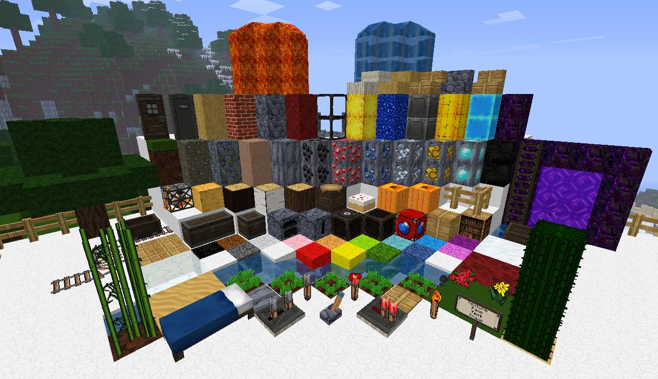 1.2.5 Minecraft 4Kids 64x • Minecraft.fr