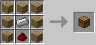 1 2 5 trapcraft for How to draw a crafting table
