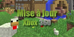 Update pour Minecraft : Xbox 360