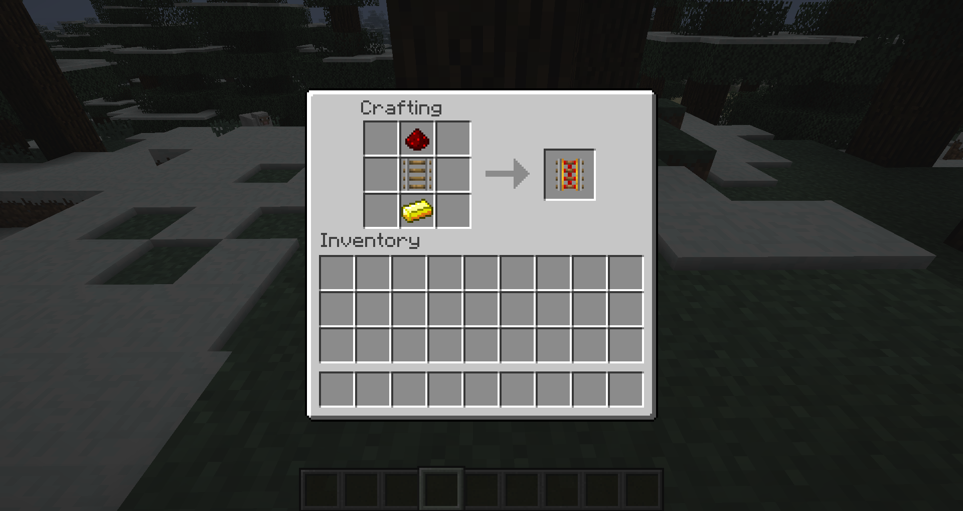 how to craft a powered rail 1 3 1 morecrafting minecraft fr 7776