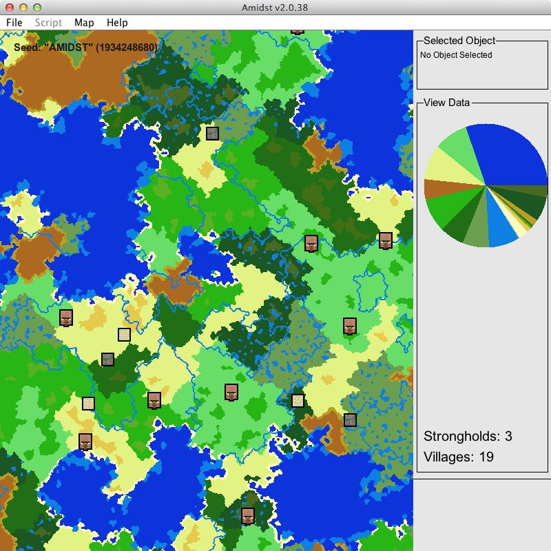 Capture d'écran du logiciel AMIDST