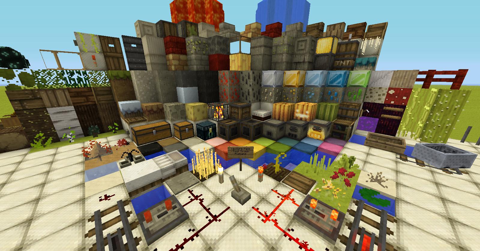 1.3.2 GreatWood 16x16 • Minecraft.fr