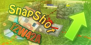 Minecraft 12w42a/12w42b