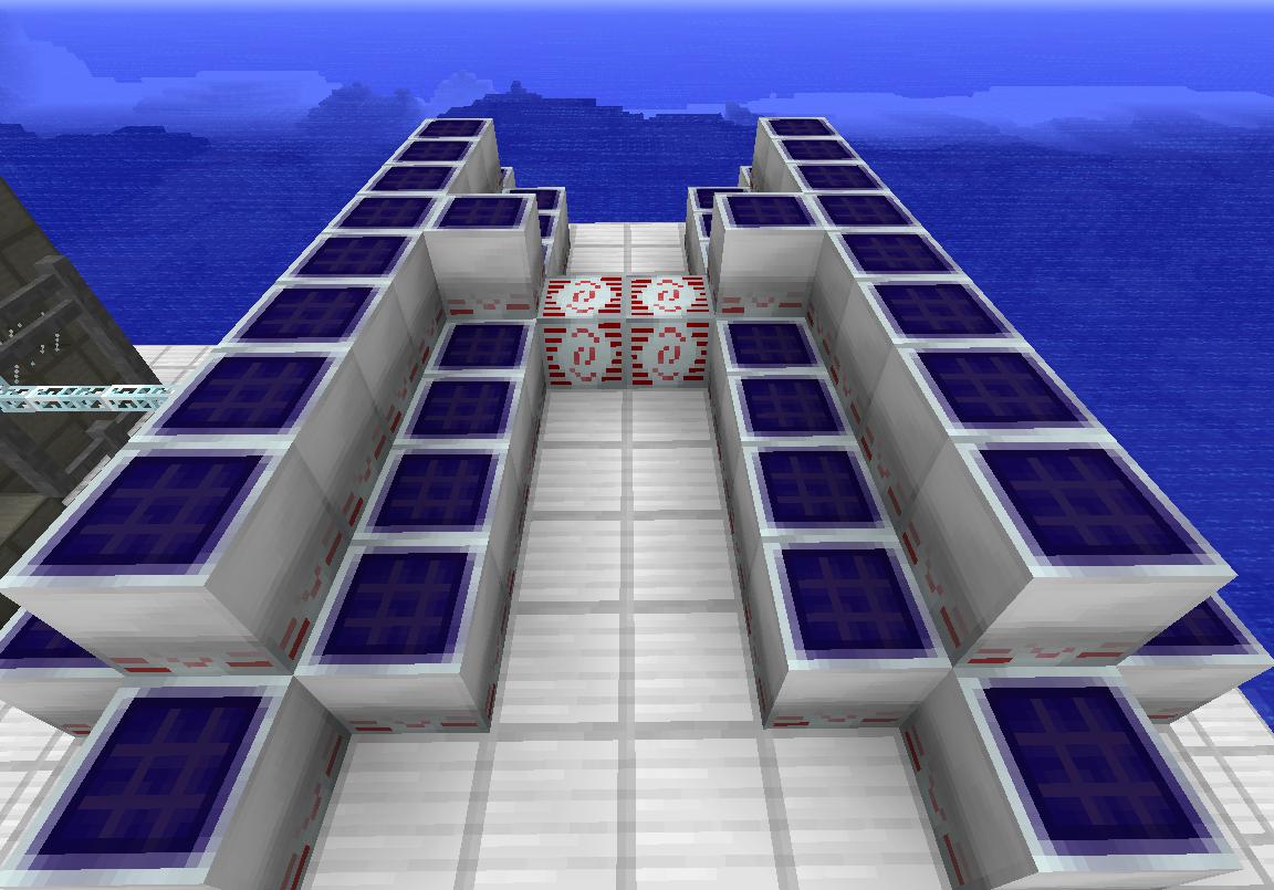 Mv solar arrays Technic et Tekkit   Présentation
