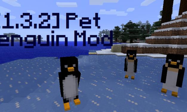 [1.3.2] Pet Penguin Mod