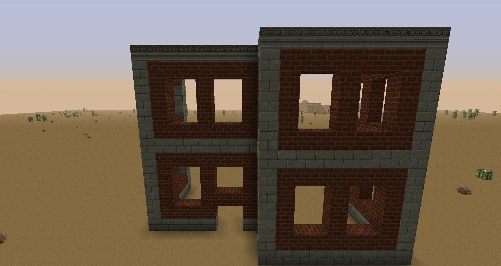 Architecture extraordinaire le steampunk for Minecraft plan de construction maison