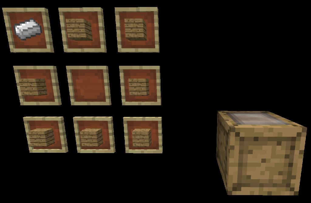 Craft Caisse 1024x667 [1.4.4] Mod Conteneurs
