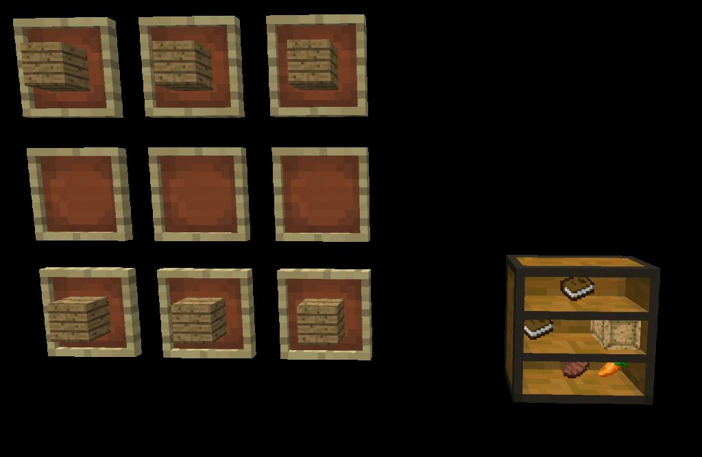 Craft etageres 1024x667 [1.4.4] Mod Conteneurs
