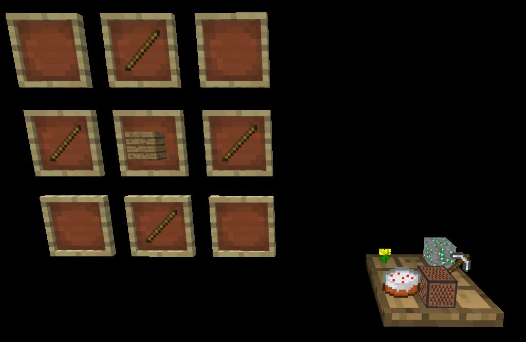 Craft plateau 1024x667 [1.4.4] Mod Conteneurs