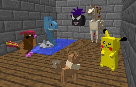 Pokémons [1.4.5] Pixelmon