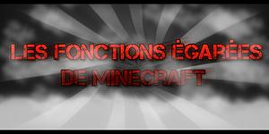 Les Objets égarés de Minecraft !