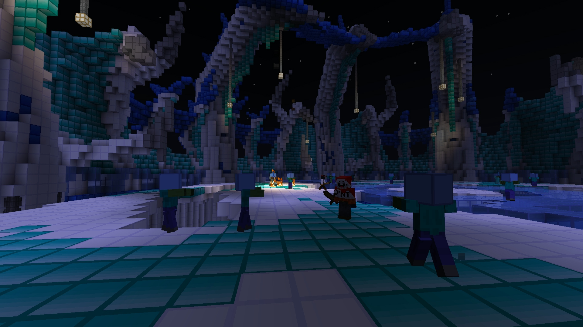 скачать карты для minecraft 1.7.2 на арену зомби #5
