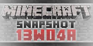 Minecraft 13w04a
