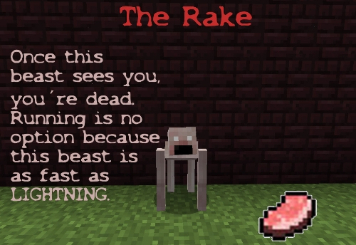 [1.4.7] Mod CreepyPastaCraft rake