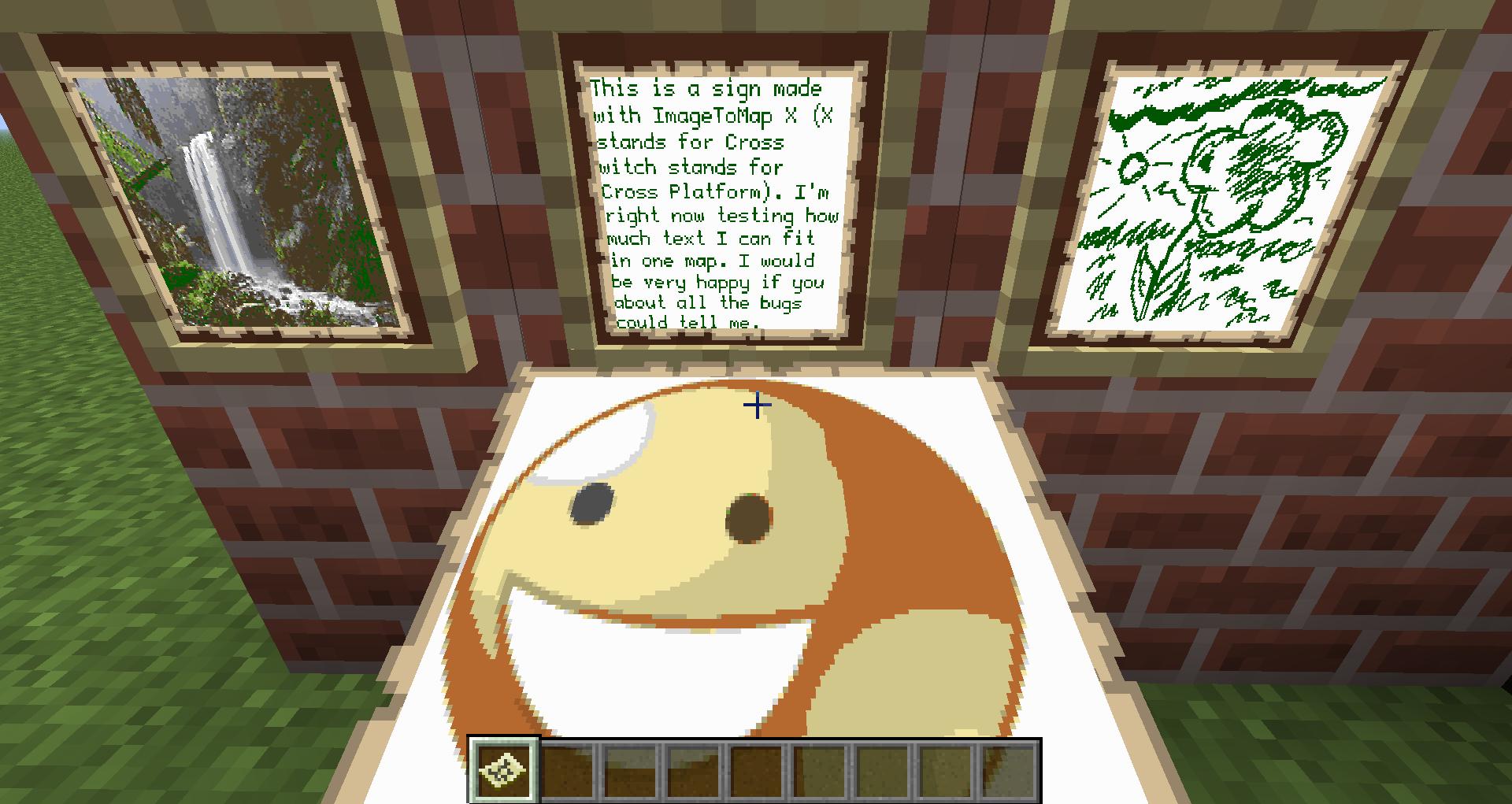 Imagetomap Spritecraft Minecraftfr