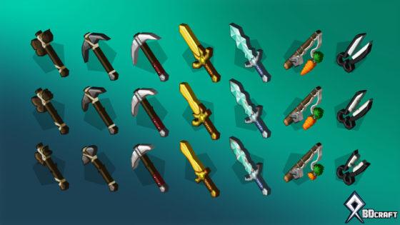 sphax pure bd craft damaged items addon