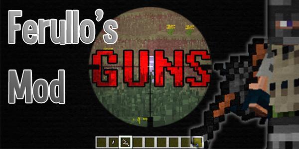 1359821193 esgax [1.5.2] Ferullo's Guns Mod