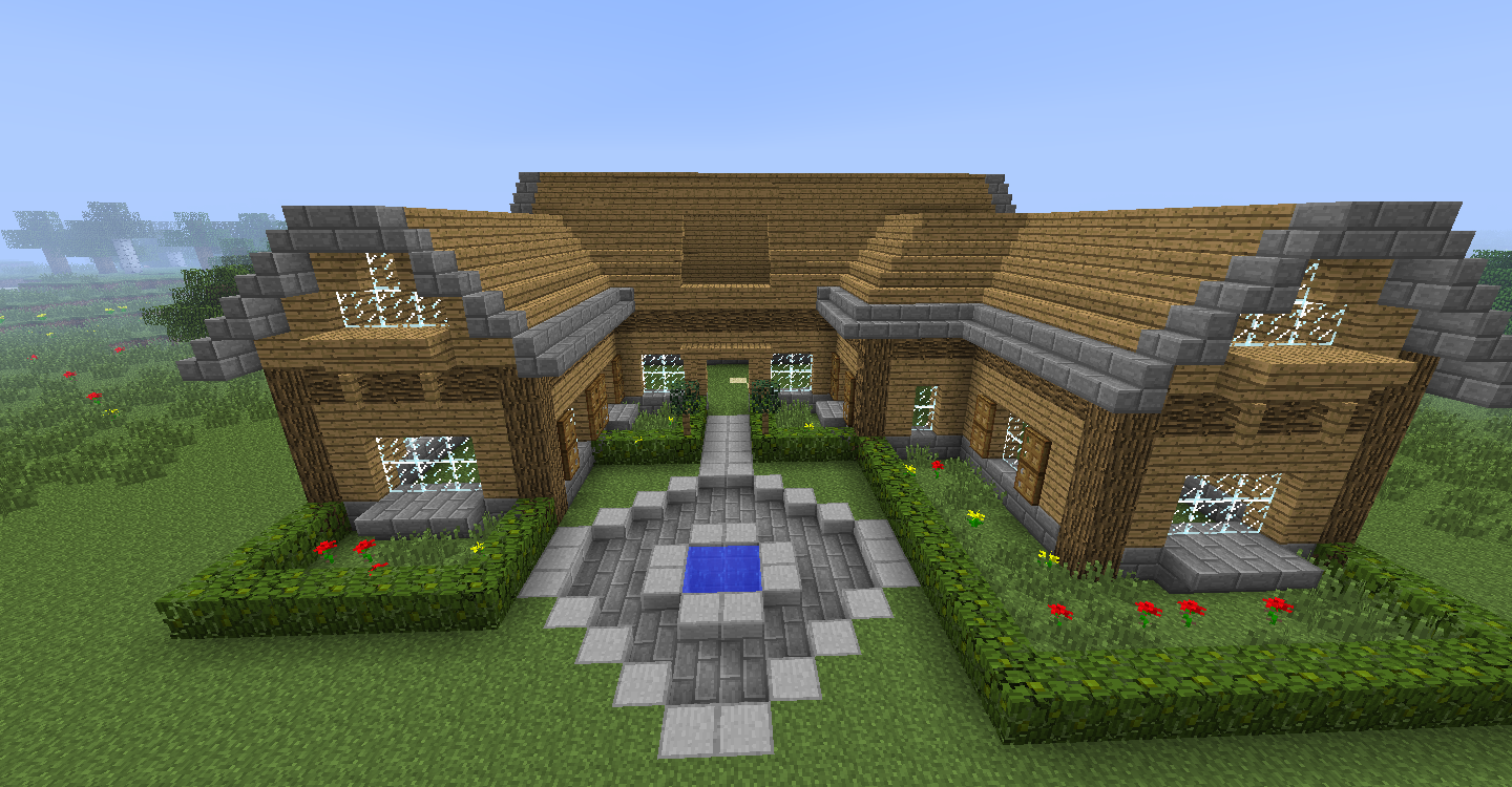 Comment decorer une maison dans minecraft for Decoration maison minecraft
