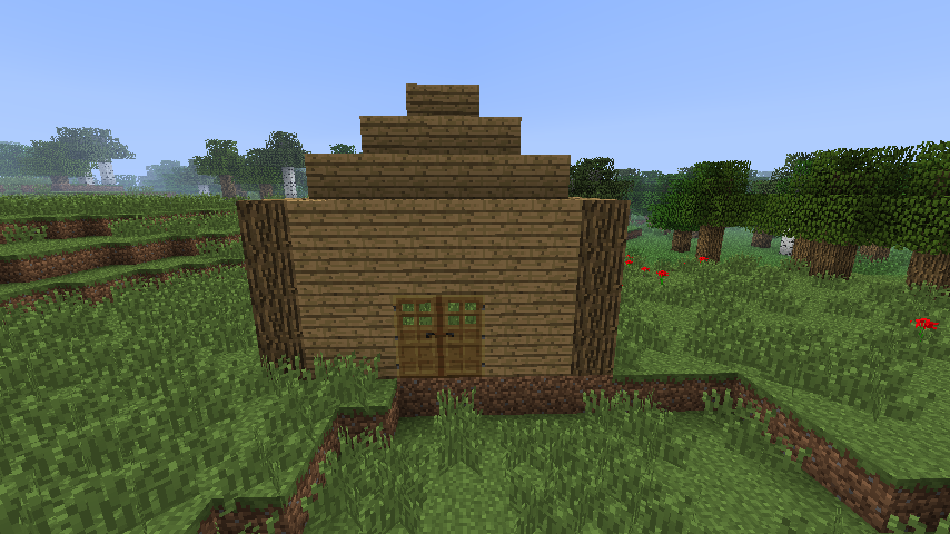 Le guide de l architecte rfwteamfight - Minecraft exemple de maison ...