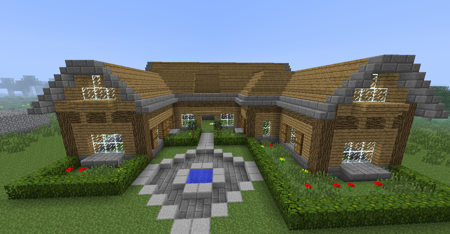 Comment construire maison minecraft - Construction minecraft maison ...