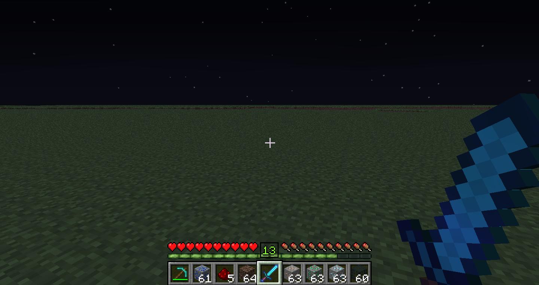 indicateur de niveau minecraft