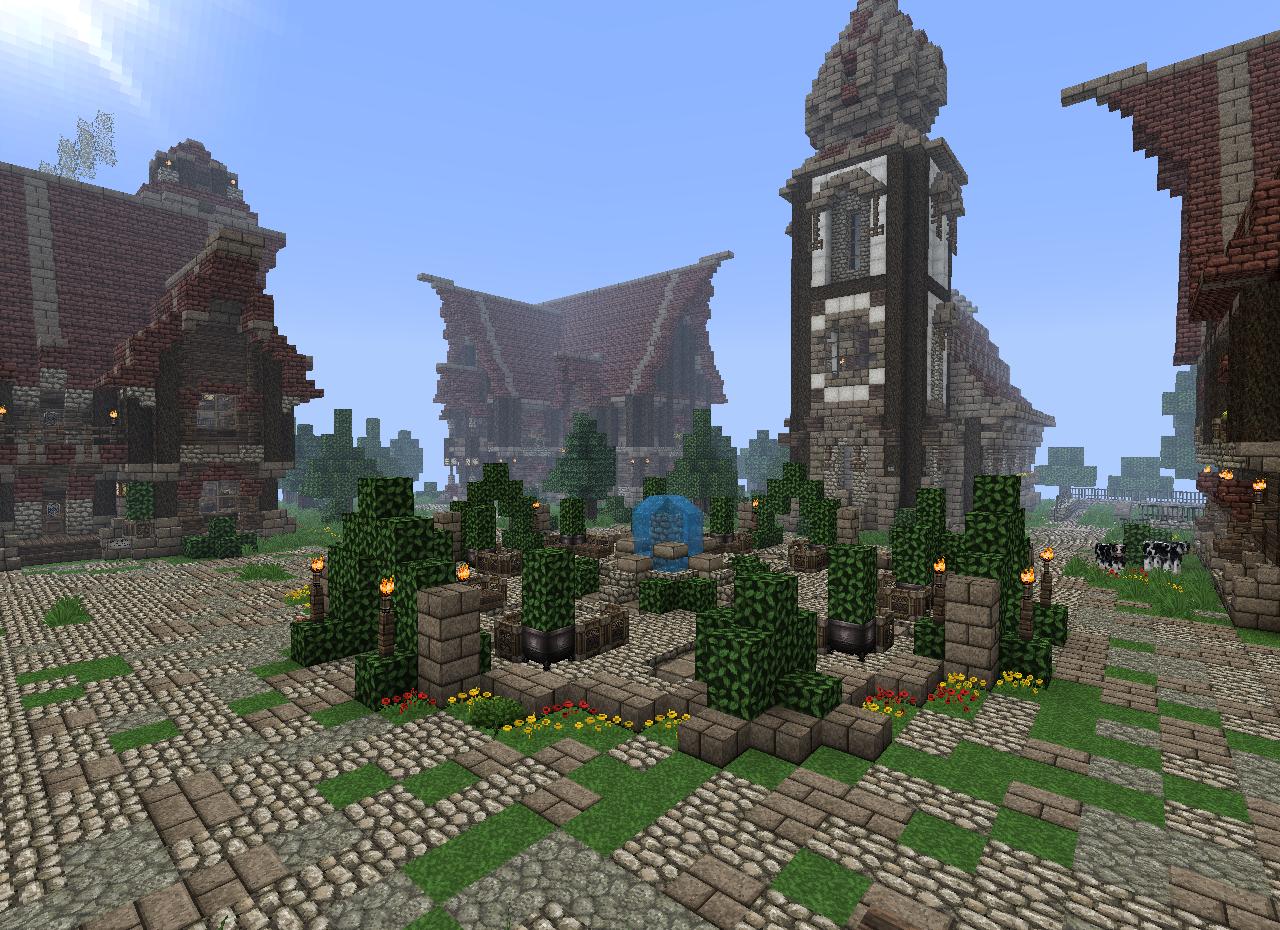 Скачать текстур пак Средневековье 32 на 32 для Minecraft 1.7.2