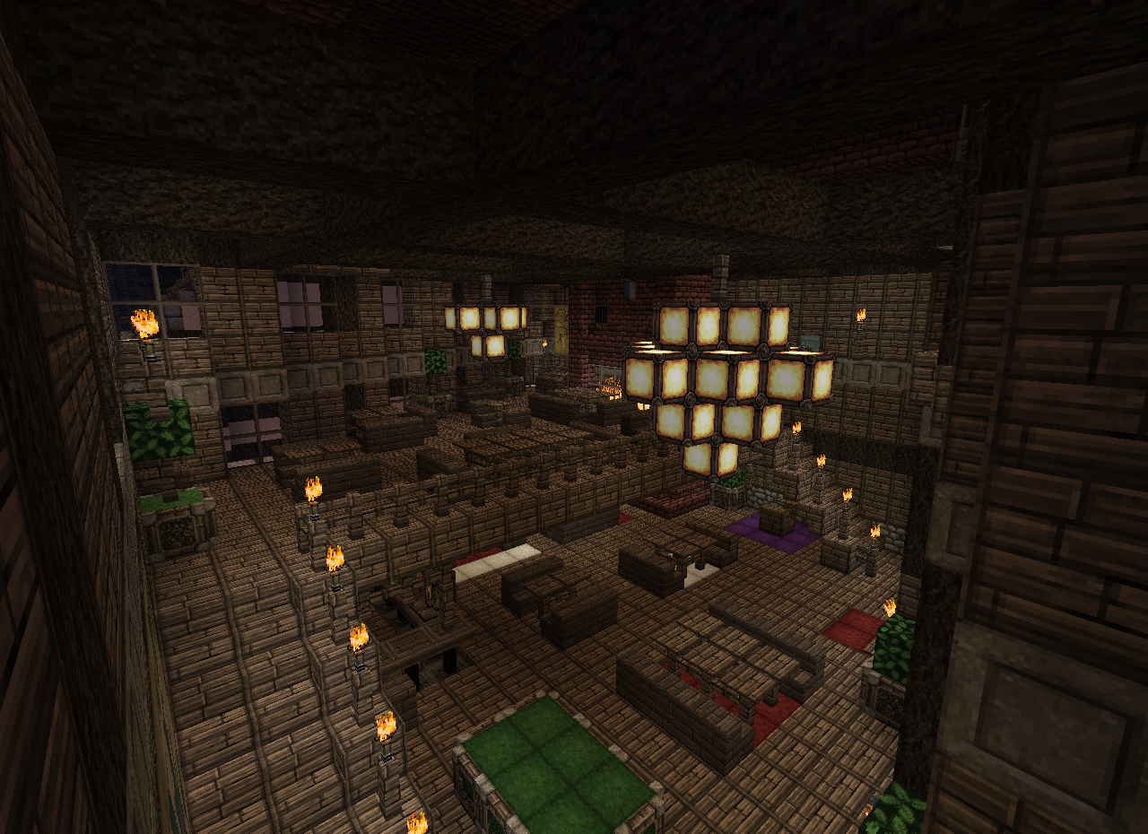 Interieur maison m di vale minecraft for Decoration maison minecraft interieur