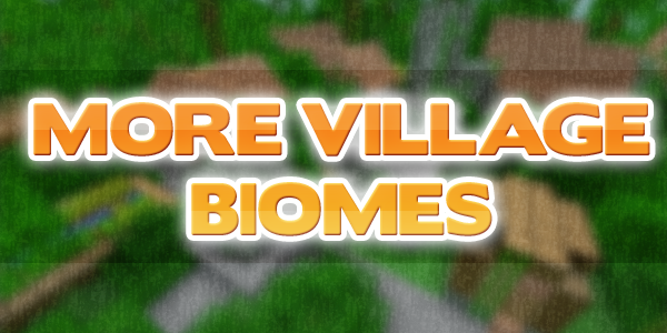 [1.5.1] More Villages Biomes