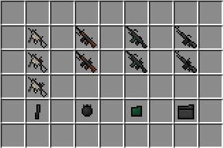 mitraillettes [1.5.2] Ferullo's Guns Mod