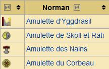 amulettes [1.5.2] Millénaire