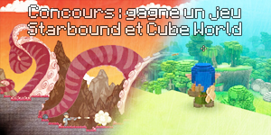 Starbound & CubeWorld : Concours