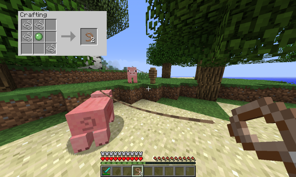 Comment Faire Une Douche Dans Minecraft. Fabulous Simple Furniture ...