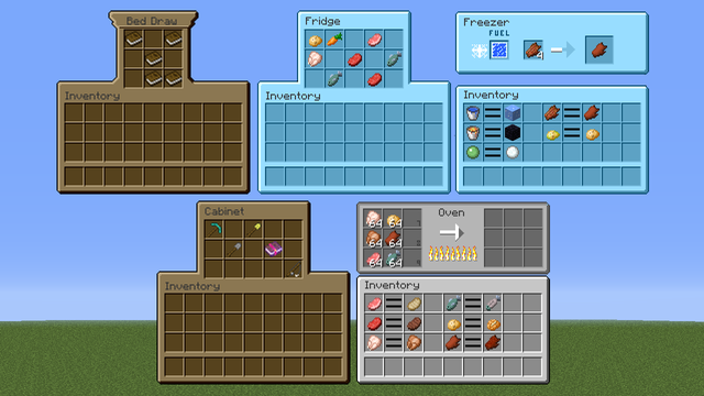 MrCrayfish's Furniture Mod interface