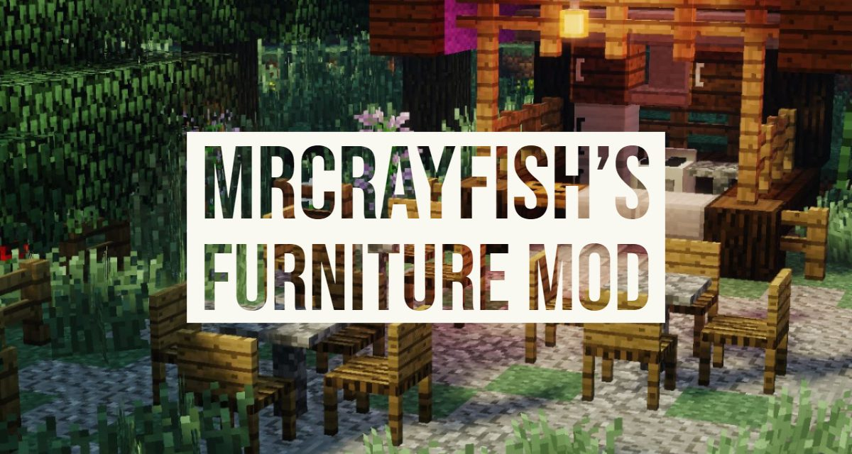 Mrcrayfish S Furniture Mod 1 7 10 1 15 2 Minecraft Fr